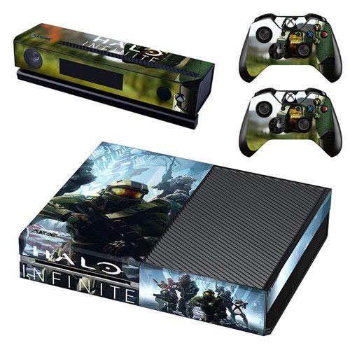 Faceplates, Decals & Stickers Video Game Accessories Xbox One X Unsc Skin Sticker Console Decal Vinyl Xbox Controller