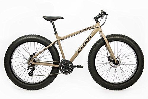 Bicicleta de montaña Fat bike Aluminio Cloot Tomahawk 4.0 Frenos de disco Shimano, cambio Shimano 21 velocidades