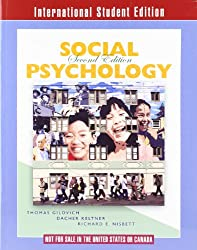 Social Psychology (Ise 2nd Edition)