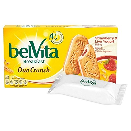 Belvita Petit Duo De Fraises 5 X 50G Yogourt