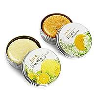 Ucradle Shampoo Bar, Natural Hair Vegan Shampoo Bar Various Plant Essence Hand Soap Shampoo Bar, Hair Cleaning and Moisturising for Dry & Damaged Hair, 2 Pack