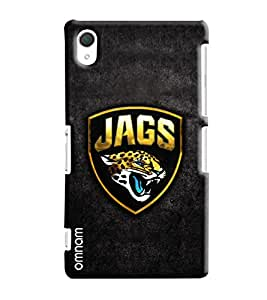 Omnam Jags With Tiger Printed Designer Back Cover Case For Sony Xperia Z2