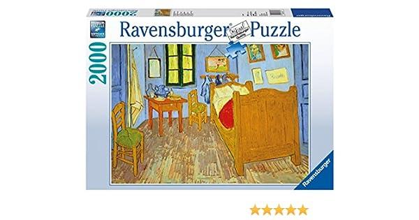 Ravensburger 16684 Van Goghs Schlafzimmer In Arles, 2000 Teile