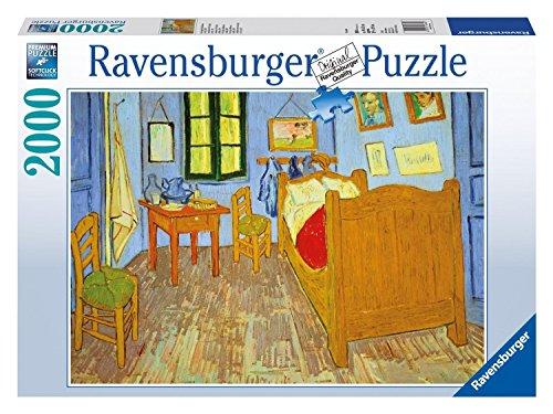 Ravensburger 16684 8 Puzzle 2000 pièces Motif chambre de Van Gogh en Arles