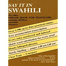 Say It in Swahili (Dover Language Guides Say It Series) (English Edition)