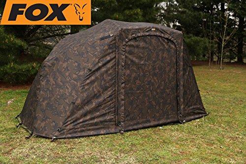 Fox Supa Brolly Camo Overwrap MK2 60'' - Überwurf für Karpfenzelt, Angelzelt, Zelt zum Angeln