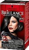 Brillance Intensiv-Color-Creme, 890 Schwarz, 3er Pack (3 x 1 Stück)