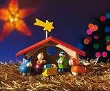 Selecta Spielzeug 5220 - Weihnachtskrippe für Kinder, hergestellt in Deutschland