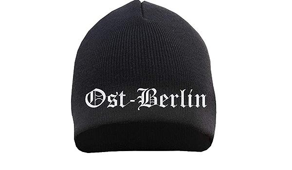 54300 BEANIE Hip-Hop Mütze Wollmütze Strickmütze Stick • BERLIN •