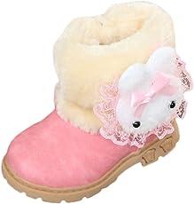 HUHU833 Baby Kinder Jungen Mädchen Stiefel Warme Sneaker Stiefel Schnee Baby Stiefel Warm Schuhe