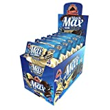 Max Protein - Black Max Total Choc - 1x100gr (4 covered protein cookies) (White Choc, 12x100gr)