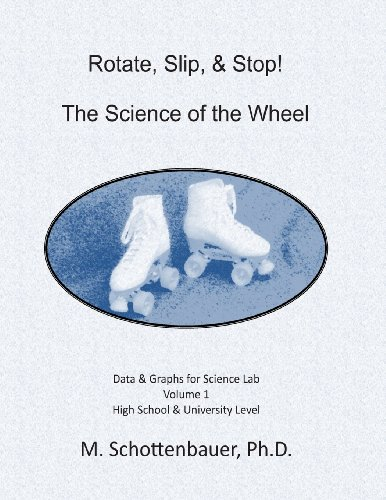 Rotate, Slip, Stop! The Science of the Wheel: Data and Graphs for Science Lab: Volume 1 (Slip-roller)