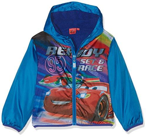 Disney cars giacca impermeabile bambino, blu 104 (taglia produttore:4 anni)