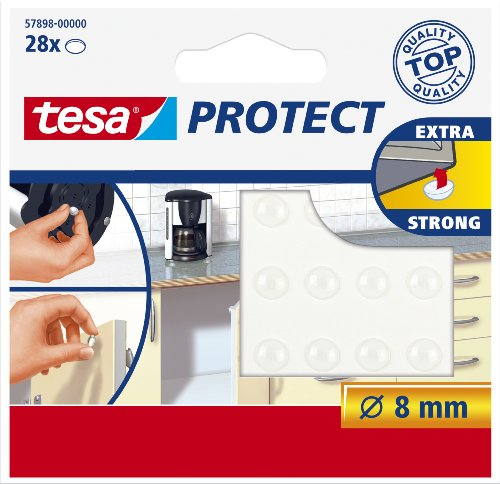 tesa-57898-self-adhesive-door-and-drawer-protection-pads-round-transparent