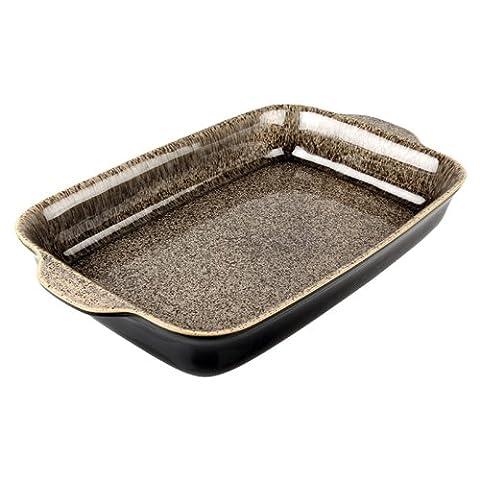 Denby Praline Large Oblong Dish,