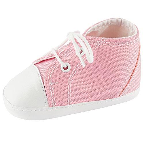 Toma Babyschuhe Krabbelschuhe Baby Schuhe Mädchen Jungen BS2011 Pink Größe 13cm