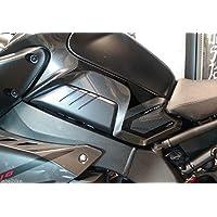 2Stickers Gel 3d Protections latérales réservoir compatibles pour moto yamaha MT-10