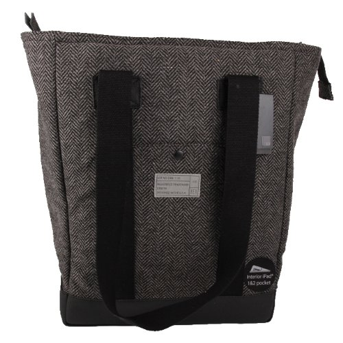 hex-drake-supply-tote-bag-black-grey-herringbone