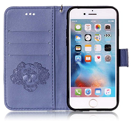custodia protettiva flip case per apple iphone 6 / 6s