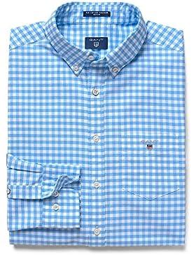 Gant The Regular Oxford Gingham Shirt, Camisa Para Hombre