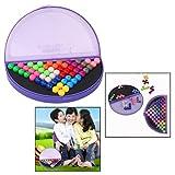 OFKPO Multi-color IQ Puzzle Blocks para IQ Game Challenge Rompecabezas...