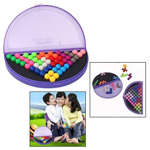 OFKPO Multi-color IQ Puzzle Blocks para IQ Game Challenge Rompecabezas Juguetes para Niños Adultos