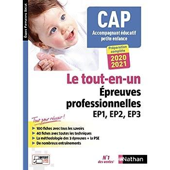 CAP Accompagnant Éducatif Petite enfance Tout-en-un - Épreuves professionnelles - 2020-201