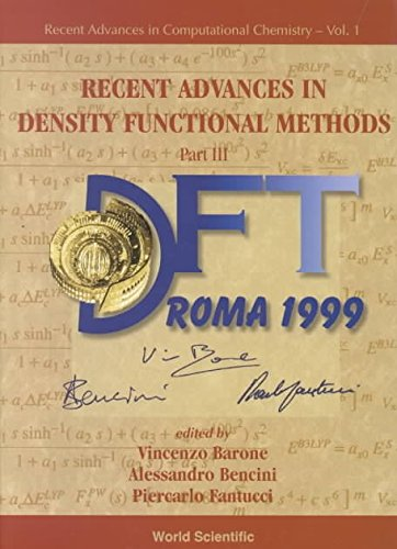 [(Recent Advances in Density Functional Methods: Pt. 3)] [By (author) Vincenzo Barone ] published on (February, 2002)