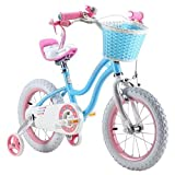 Royalbaby Star-Girl Kids Bike, Blue, 16""