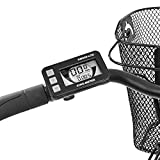 Telefunken E-Bike Damen 28 Zoll, Elektrofahrrad Alu in Weiß mit 7-Gang Shimano Nabenschaltung - Pedelec Citybike leicht mit Fahrradkorb, 250W & 13Ah / 36V Lithium-Ionen-Akku -