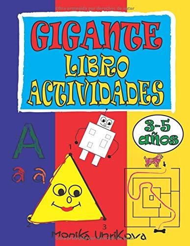 Gigante Libro Actividades 3-5 años