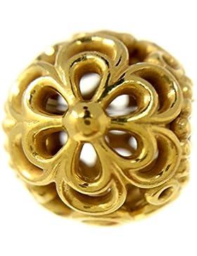 Pandora Charm Durchbrochene Apfelblüte 790965 mit 24 Karat Gold vergoldet