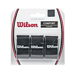 Wilson Ultra Grip WRAP BK 6PK