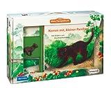 Mein Tierspielbuch: Komm mit, kleiner Panther!: Pappbilderbuch mit Schleich-Tierfigur in Spielkoffer