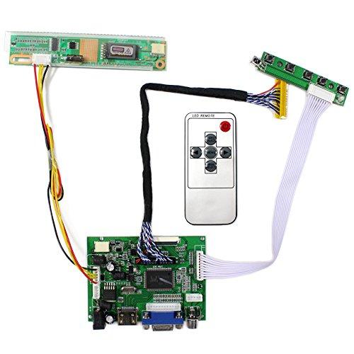 HDMI + VGA + 2AV Eingang LCD Controller Board für B154PW01V LP171WP4 15,4