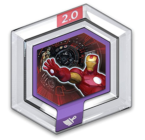 sap-media Disney Infinity Power Discs 1.0 Wave 1,2,3 & RARES, Works with 2.0 & 3.0#1 Marvel - View from The Suit (Marvels Power Disc)