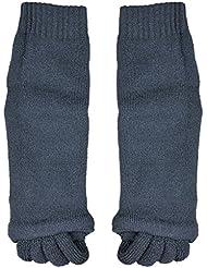 Chaussettes massage pieds relaxation alignement / séparer orteils pr deco - Noir