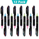 LAOYE 4in1 Multicolor Stifte, jeder Stift enthält 4 Minen von verschiedenen Farben. Flexibel, bequem und schnell, um verschiedene Farben nach Ihren eigenen Bedürfnissen zu ersetzen.   Beste Wahl als Geschenk:  Die süße und mehrfabrige Kugelschreiber ...