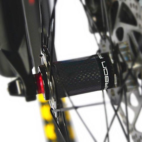 51EIPb2JuRL. SS500  - BEIOU Carbon Dual Suspension Mountain Bicycles All Terrain 27.5 Inch MTB 650B Bike SHIMANO DEORE 10 Speed 12.7kg T700 Frame Matte 3K CB22