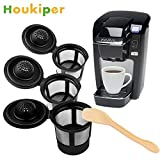 SOLEDI Houkiper 3Pcs/Set Coffee&Tea Pod Filters Compatible with Keurig K Cup Coffee System