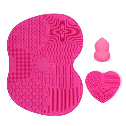 kedsum-makeup-brush-cleaning-matsmakeup-brush-cleaner-with-1-apple-shaded-large-mat1-heart-shaped-sm