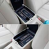muchkey coche apoyabrazos caja de almacenamiento guantera caja de almacenamiento bandeja Auto accesorios para Nissan X-Trail (T3220142015Rogue 20141pieza