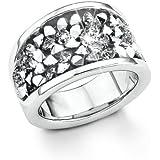 S. Oliver Damen-Ring Edelstahl Kristall weiß 4403_1