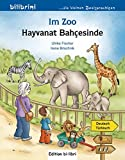 Im Zoo: Kinderbuch Deutsch-Türkisch