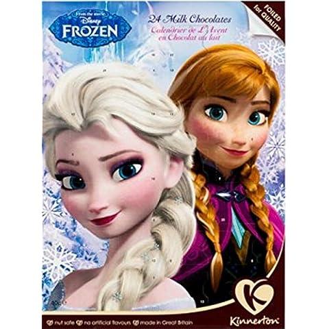 Disney Frozen–Calendario de adviento Chocolate con leche Tuerca de seguridad