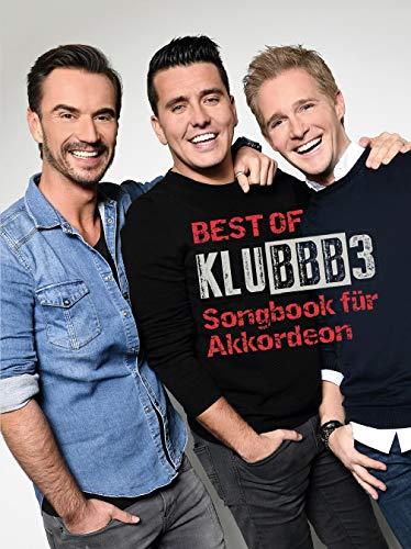 Best Of Klubbb3 -Für Akkordeon- (Notenbuch): Noten, Songbook für Akkordeon