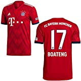 adidas FCB Heimtrikot 2018 2019 Herren Boateng 17 Gr S