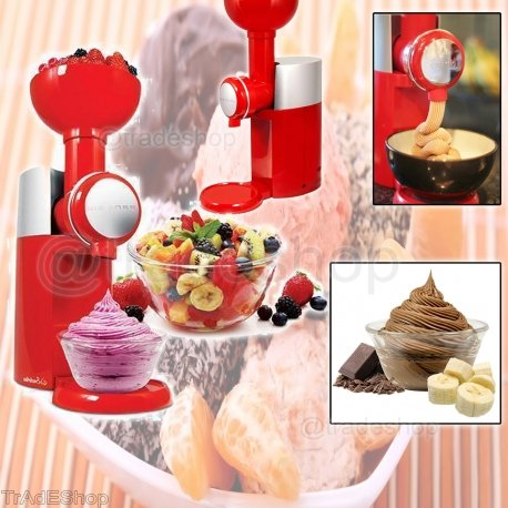 Trade shop traesio macchina per gelato yogurt naturali swirlio big boss frozen frutta dessert maker