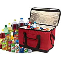 Fineway Extra Large 30 Litre 60 Can Insulated Cooler Cool Bag Collapsible Picnic Camping