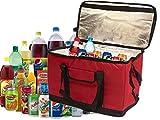 Extra große 30Liter 60kann imnsulated Kühler Kühltasche faltbar Picknick Cam